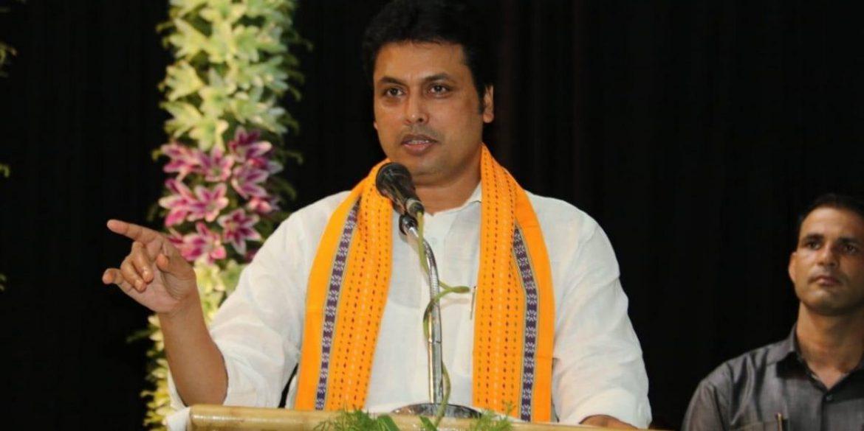 त्रिपुरा सीएम बिपलब देब बोले- श्रीलंका और नेपाल में बीजेपी की सरकार बनाना चाहते थे अमित शाह