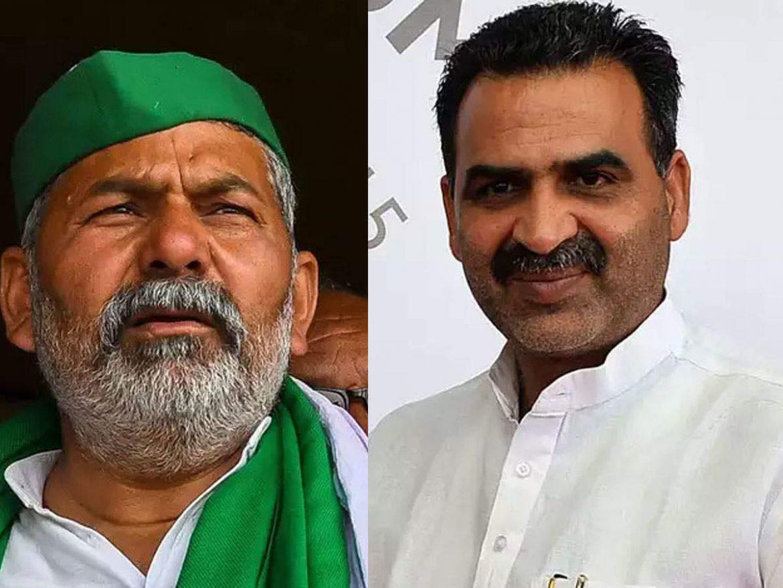 जाटों में टिकैत के बढ़ते असर से टेंशन में BJP, यूपी की 50 सीटों के लिए खाप वाला दांव