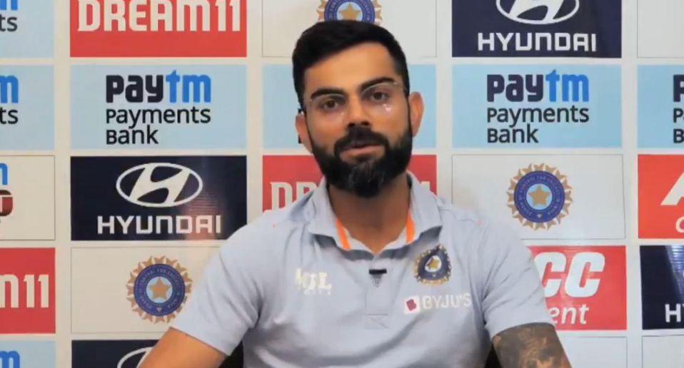 वीडियो: राहुल की फॉर्म पर सवाल, कोहली ने गाया गाना- 'कुछ तो लोग कहेंगे...'