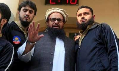 पाकिस्तान: लाहौर में आतंकी हाफिज सईद के घर के बाहर बम विस्फोट, 12 लोग जख्मी