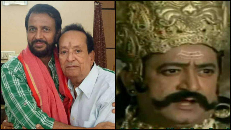 'रामायण' में रावण का किरदार निभाने वाले ऐक्टर अरविंद त्रिवेदी का निधन