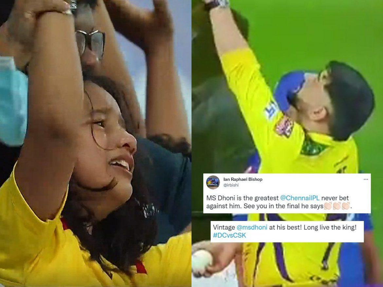चेन्नई की जीत पर फूट-फूटकर रोने लगी भावुक फैन, धोनी ने दिया खास गिफ्ट